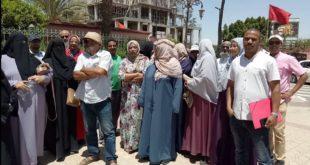 احتجاجات ضد الكاتب العام لولاية مراكش والسبب