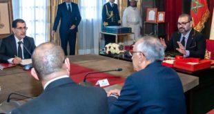 جلالة المٓلك سيعفِي وزراء في حال تأخر العثماني عن تقديم لائحة التعديل الحكومي بداية شتنبر