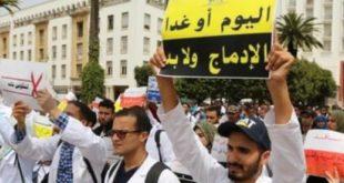 المتعاقدون يصعدون ضد وزارة أمزازي