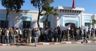 بلدية بني أنصار والسلطة المحلية. يعمدان إلى سرقة عقار محفظ …….