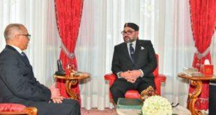 """الملك محمد السادس يلتقي بـ""""شكيب بنموسى"""" للإشراف على تعيين أعضاء اللجنة الخاصة بالنموذج التنموي (بلاغ)"""